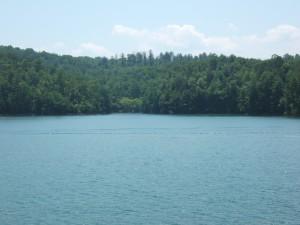 Lake Hiwassee View from Bear Paw Resort