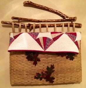 Basket from Folk School Fall Festival