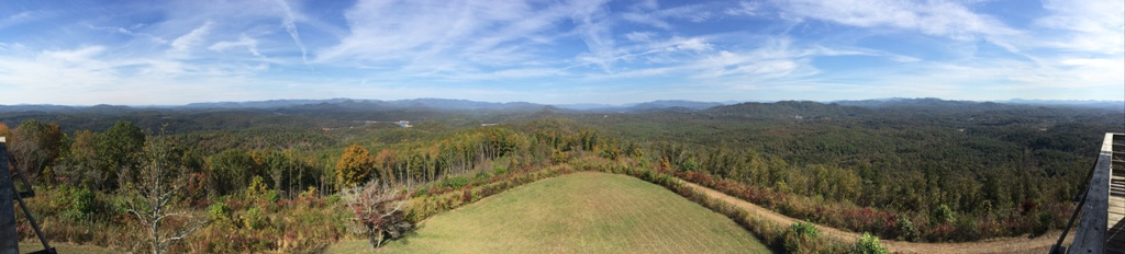 Panther Top Panoramic View