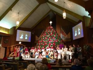 Singing Christmas Tree in Murphy NC
