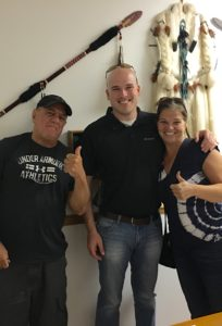 John Poltrock with Kim and Willy right after their signing the closing documents.